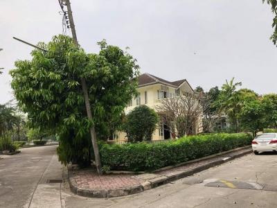 For RentHouseRamkhamhaeng,Min Buri, Romklao : RH330 House for rent 95 sq m, Home Place Ramkhamhaeng 140 corner.