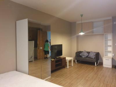 For RentCondoPattanakan, Srinakarin : 6266 Condo for rent, Iris iris Srinakarin, 5th floor, near air port link Hua Mak