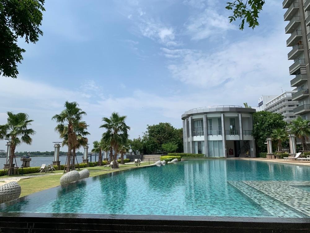 For SaleCondoRattanathibet, Sanambinna : Manor Sanambinnam Resort atmosphere Special price from 2.3 to 2.1 million