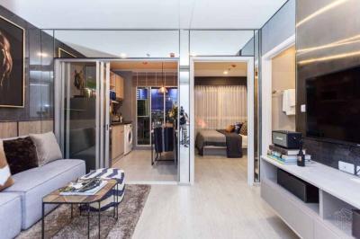 ขายคอนโดท่าพระ ตลาดพลู : Elio สาทร วุฒากาศ ห้องโครงการราคาโปรโมชั่นพิเศษสุด 1ห้องนอน ชั้นสูง วิวสวย