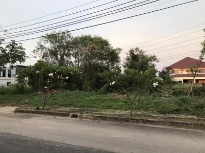 For SaleLandPinklao, Charansanitwong : Land for sale in 304 sq.m .. Village of Ngam Thawi Garden, Taling Chan, Soi Bang Ramat 9, near Kanchanaphisek Road