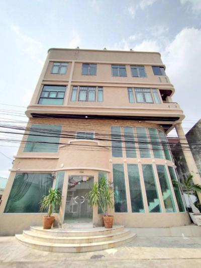 For SaleHouseBang Sue, Wong Sawang : House for sale, Home Office, Prachachuen, Chaengwattana, 5 floors, size 55, 4 bedrooms, 7 bathrooms, price 21.5 million