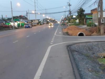 ขายที่ดินมีนบุรี-ร่มเกล้า : ขายด่วน!! ที่ดินติดถนนประชาร่วมใจ 2-1-39 ไร่(ระหว่าง ซอย10-12) ถนนสี่เลน คลองสามวา ขายถูกมากๆ