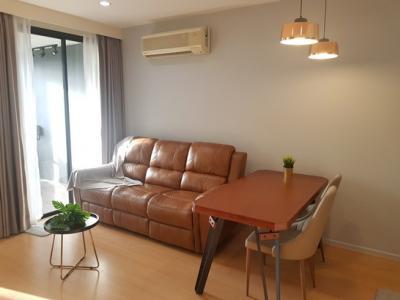 For RentCondoOnnut, Udomsuk : For rent Vista garden, quiet side, new renovated room Furniture, appliances, fully livable.