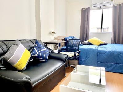 For RentCondoRangsit, Patumtani : Condo for rent at Lumpini Township Rangsit-Khlong 1, Studio 1 bathroom, Building A8, 7th floor, size 21.5 sq.m.