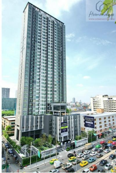 เช่าคอนโดพระราม 9 เพชรบุรีตัดใหม่ : For rent ** Rhythm Asoke 1 studio floor 14