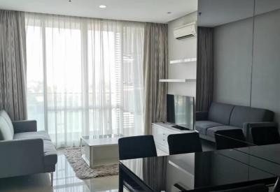เช่าคอนโดพระราม 9 เพชรบุรีตัดใหม่ : ให้เช่า คอนโด TC Green พระราม 9 ( TC GREEN Rama 9 ) - เเบบ 2 ห้องนอน 1 ห้องน้ำ 1 ครัวเปิด ห้องสวย - ขนาดห้อง 60 ตร.ม ชั้น 7  ค่าเช่า 22,000 บาท