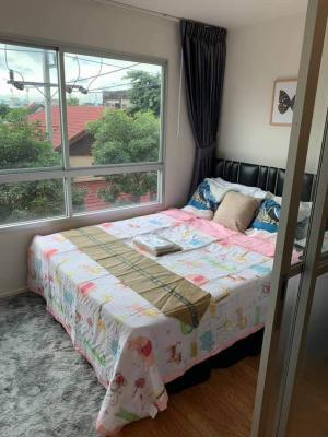 For RentCondoSamrong, Samut Prakan : For rent, Lumpini Ville Sukhumvit 76 - Bearing. Ready to move in. Beautiful room.