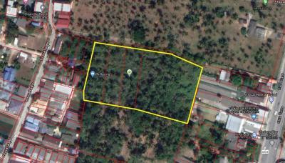 For SaleLandPhuket, Patong : Phuket Land for Sale 5 Chalong Intersection 3.5 Rai (next to property)
