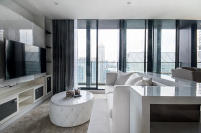 For RentCondoWitthayu,Ploenchit  ,Langsuan : (Penthouse Duplex) Noble Ploenchit - Luxury High Floor Duplex / Ready To Move In / Stunning Views