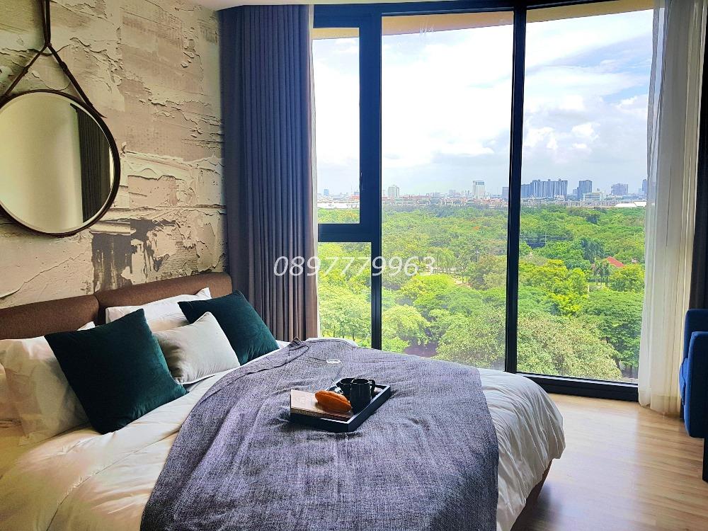 For RentCondoSapankwai,Jatujak : The Line Jatujak, 2 bedrooms, 2 bathrooms, corner unit, real view, pool view, fully furnished 62.5 sqm.