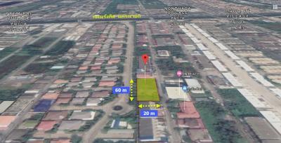 For SaleLandRangsit, Thammasat, Patumtani : Land for Sale 298 Sq. Khlong 2, Rangsit Road, Nakhon Nayok, Pathum Thani