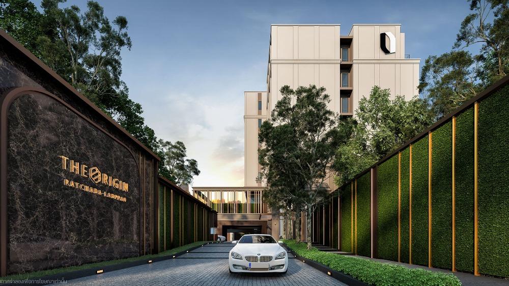 ขายดาวน์คอนโดรัชดา ห้วยขวาง : Condo for Sale down payment 🏢The Origins Ratchada-Ladprao📍Room no.1 1Bed Smart Closet 27.5 Sq.m. 📍5th floor & 8th floor