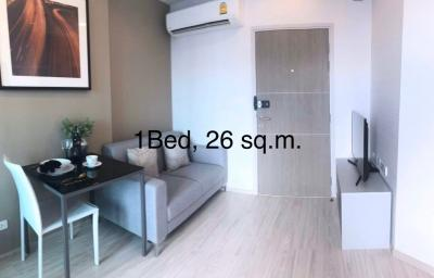For SaleCondoBang Sue, Wong Sawang : Cheapest since the last project launch. Free of charge for every item. 1 bedroom for only 2.65 Mb