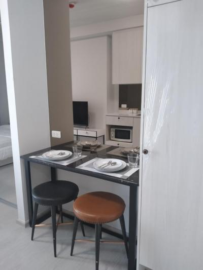 For RentCondoBang Sue, Wong Sawang : Condo for rent, beautiful room, ready to move in, cheap, near Riyothin, fully furnished condo for rent