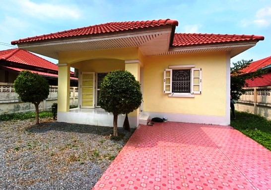 For SaleHouseRangsit, Patumtani : House for sale, 1 floor, Arisara Village 3, Khlong Phra Udom, Lat Lum Kaeo, Pathum Thani