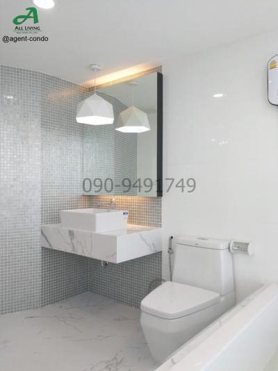 For RentCondoRamkhamhaeng Nida, Seri Thai : Condo for Rent Bangkok Horizon Ramkhamhaeng 60, beautiful room, ready to move in