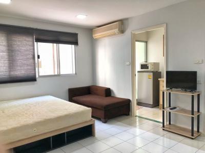 For RentCondoOnnut, Udomsuk : M2380-Condo for rent at Lumpini Center Sukhumvit 77, Fully furnished + Electric appliances ready!