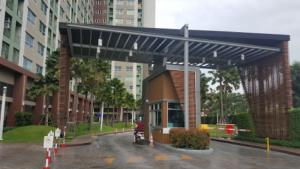 For SaleCondoPattanakan, Srinakarin : Quick sale with the cheapest condo next to the train.