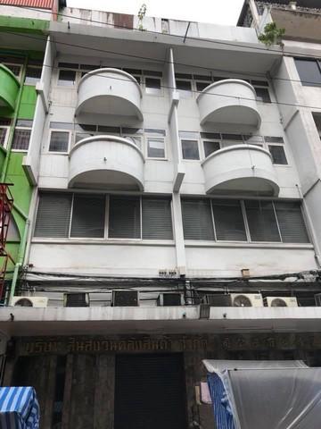 For SaleShophouseSilom, Saladaeng, Bangrak : Selling commercial buildings 4 stories near BTS Saladaeng, Soi Silom 1 2 booths through each other