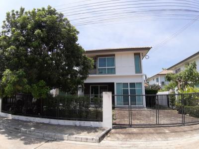 For SaleHouseBangbuathong, Sainoi : 2-storey detached house for sale, Prueklada Village, Bang Yai 2, Khlong Bang Bang Nang Road, Bang Yai, Nonthaburi