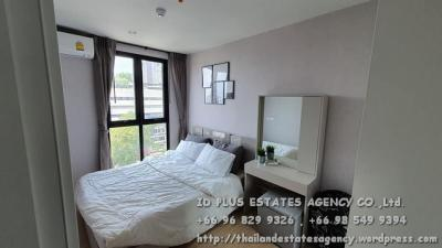 For RentCondoPinklao, Charansanitwong : Plum condo Pinklao for rent: 1 Bedroom on 9th floor. Rama 8 bridge view.With fully furnished and electrical appliances. Just 600 m. to MRT Bangyikhan, near Mahidoln University, Thammasath University, Sirirat Hospita
