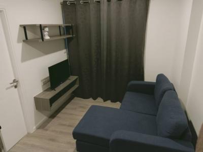 เช่าคอนโดสำโรง สมุทรปราการ : ห้องสวย!! ราคาประหยัด กับคอนโดใกล้ BTS ที่ Kensington เทพารักษ์ มีที่จอดรถ เฟอร์ครบ ส่วนกลางฟรี!!