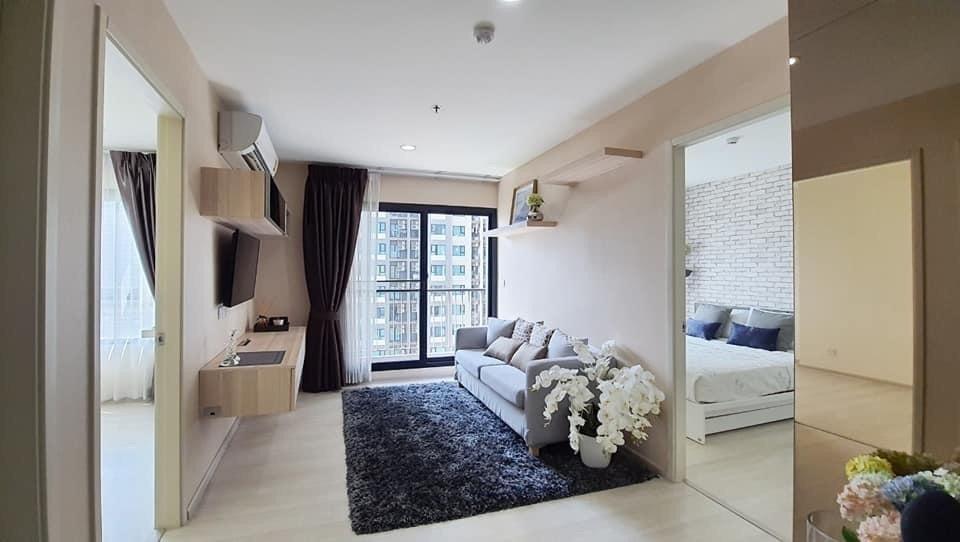 For SaleCondoRama9, RCA, Petchaburi : +++ Hot sale +++ Beautiful Asoke Life room * 2, 55.12 sq.m., high floor, fully furnished.