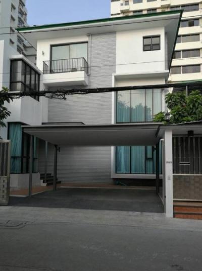 For RentHouseSukhumvit, Asoke, Thonglor : Single House 3 stroeys for rent