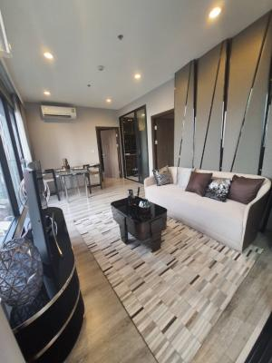For RentCondoRama9, RCA, Petchaburi : 🔥 Ready to move in, 2 bed 1 bath, fully furnished, special price 28,000 only, Ideo mobi asoke🔥
