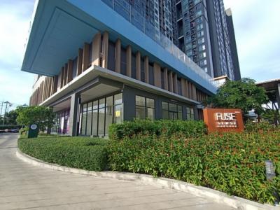 เช่าสำนักงานบางแค เพชรเกษม : ปล่อยเช่าร้านค้าหน้าโครงการ Fuse Sense Bangkae ขนาด 87.16 ตร.ม. ห้องมุม ทำเลสวย ห้องน้ำในตัว สนใจ 086-5579898