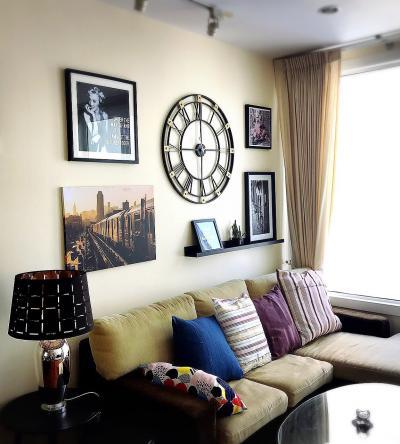 For RentCondoSukhumvit, Asoke, Thonglor : 2410 Siri Residence Sukhumvit 24 condo for rent, large room, fully furnished, fix car park near BTS Phrom Phong