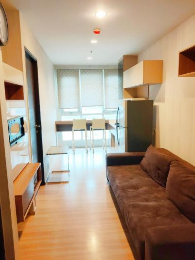For SaleCondoSathorn, Narathiwat : Urgent sale / rent cheapest Condo Rhythm Sathorn, next to Sathorn Road and Chao Phraya River, 1 bedroom, 35 sq.m., 9th floor, priced at 4.9 MB.