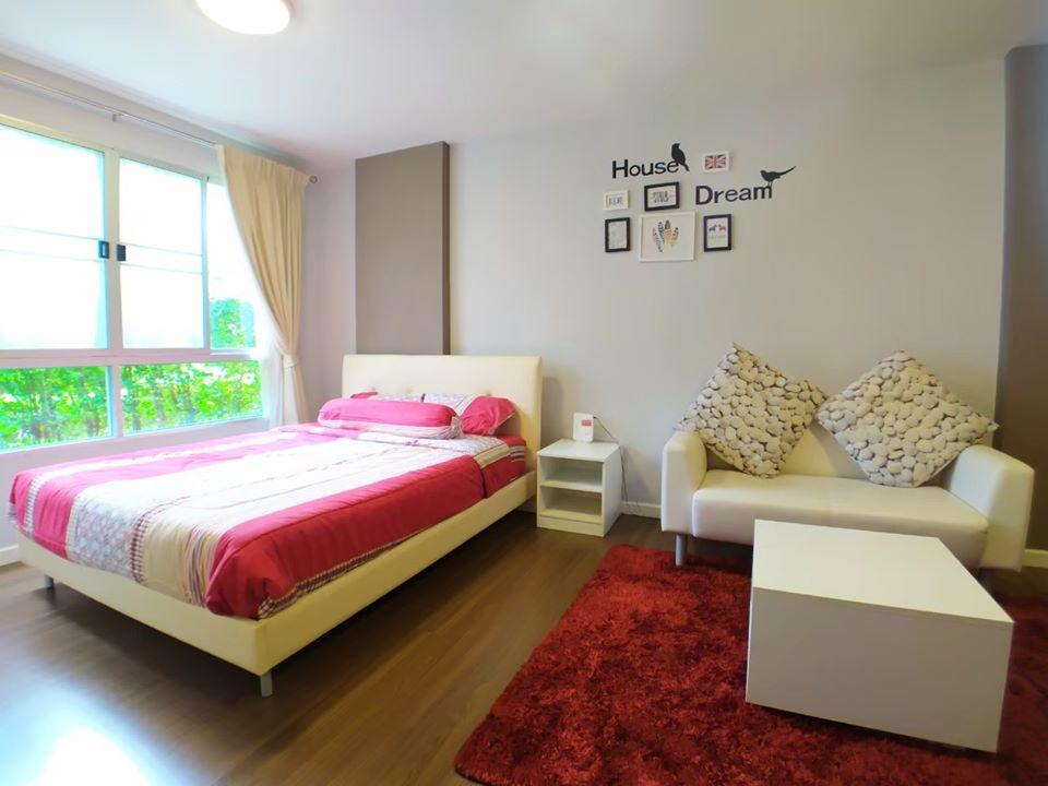 ขายคอนโดชะอำ เพชรบุรี : ขาย คอนโด บ้านทิวลม ชะอำ ชั้น 1 ห้องสวย วิวสระว่ายน้ำ (63-0362-45)