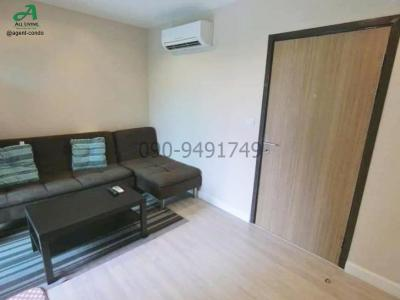 For RentCondoKasetsart, Ratchayothin : Condo for rent Metro Luxe Kaset, nice room, ready to move in