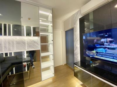 ขายคอนโดสาทร นราธิวาส : ขายด่วน คอนโด ฟิวส์ จันทน์ - สาทร (Fuse Chan - Sathorn) ติดถนนจันทน์ ใกล้สาทร, BTS ช่องนนทรี, BTS สุรศักดิ์, BRT ถนนจันทน์ 1 ห้องนอน  ขนาด 31 ตร.ม. ชั้น 19 ห้องมุม แต่งสวย