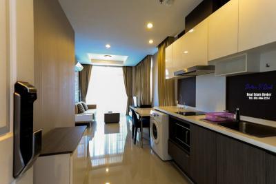 For SaleCondoChiang Mai, Chiang Rai : The Unique @ Koomuang City Condo for Sale 53 Sqm, 3rd Floor Moat View Corner Room