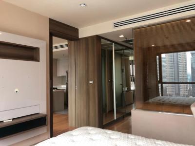 For RentCondoSathorn, Narathiwat : Rent 1 Bedroom Big living room - unblock view