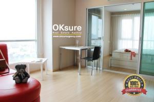 For RentCondoThaphra, Wutthakat : Condo for Rent CASA Ratchada - Ratchapiek (corner room)