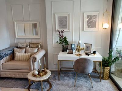 For RentCondoWitthayu,Ploenchit  ,Langsuan : AE0124 For rent, Life One Wireless, 35.44 sqm., 1 bedroom, 23rd floor, built-in view, Mrassy Park