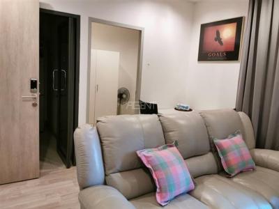 For RentCondoRama9, RCA, Petchaburi : AE0135 For rent Ideo Mobi Rama 9, 46 sqm, 12th floor, 2 bedrooms, 1 bathroom, near MRT Rama 9