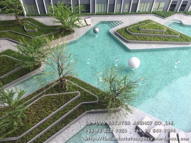 เช่าคอนโดสยาม จุฬา สามย่าน : Ideo Q Chula - Samyan Condo for rent : Studio 24 sqm. On 18th floor with fully furnished and electrical appliances. Just 350 m. to MRT Samyan , 400 m. to Chulalongkorn University. Rental only for 15,000 / m.