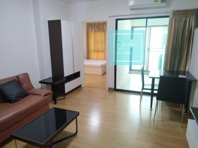 For RentCondoBangna, Lasalle, Bearing : For rent, Supalai City Resort, Bearing 105. 45 sqm. Corner room. Price 13000