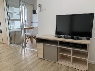 For RentCondoRathburana, Suksawat : For rent, Izzy Condo Suksawat (pool view), washing machine, 14th floor, price 7,000.-