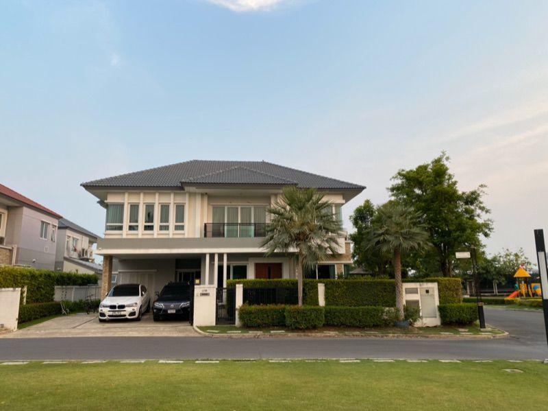For SaleHousePattanakan, Srinakarin : House for sale Grand Bangkok Boulevard Rama 9-Srinakarin 80 sqw. 5 bed 5 bath