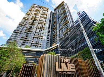 ขายคอนโดสะพานควาย จตุจักร : The Line JJ โอนลอย ขายด่วน 2bed 2bath 10.9MB Best View