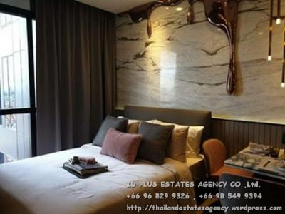 For RentCondoSiam Paragon ,Chulalongkorn,Samyan : Ashton Chula - Silom Condo for rent: Studio 26 sq.m. 12A floor. Nice decoration with fully furnished and electrical appliance.Rental only for 19,000 / M.