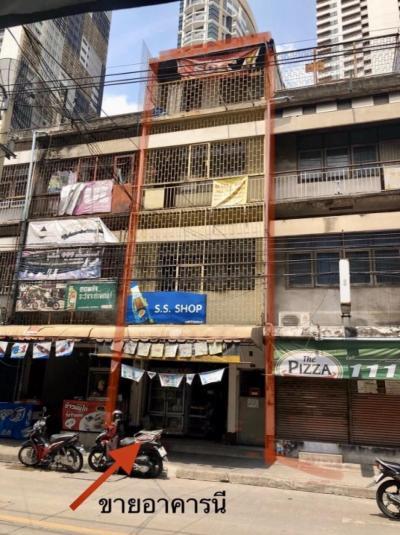 For RentShophouseSukhumvit, Asoke, Thonglor : Rent 3 and 4 storey commercial building, Soi Sukhumvit 22, Sukhumvit Road near BTS Phrom Phong