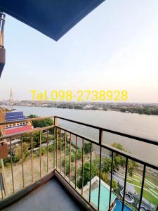 For SaleCondoRama3 (Riverside),Satupadit : Sell River Front room, high floor, size 34 sqm