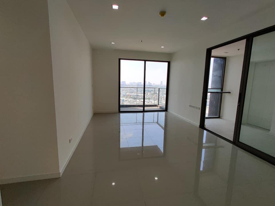 ขายคอนโดพระราม 3 สาธุประดิษฐ์ : (High Floor City View) Starview By Eastern Star - Luxury 2 Bedroom Unfurnished Unit